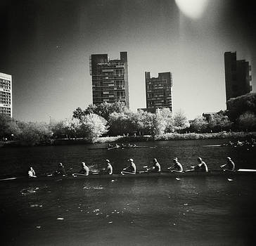 Rowers on the Charles II by Jeffrey Engel