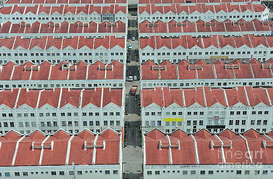 Sami Sarkis - Rows of buildings