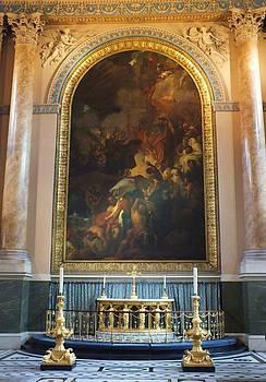 Royal Naval Chapel Interior by Anna Villarreal Garbis