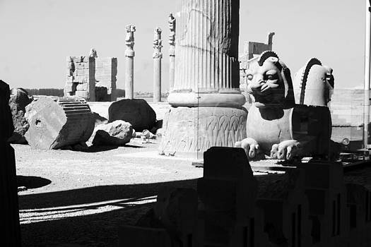 Ruins BW by Tia Anderson-Esguerra