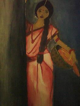 Rural woman by Amisha Tripathy