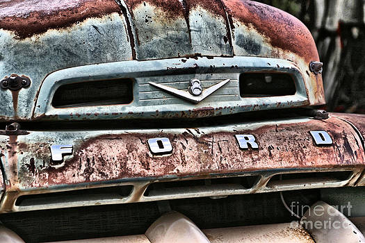 Rusted Ford by Donald Tusa