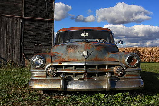 Rusty Old Cadillac by Lyle Hatch