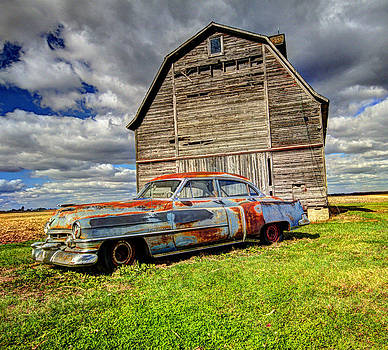 Rusty Old Cadillac by Peter Ciro