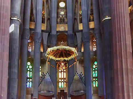 Sagrada Familia Barcelona by Udo W Klingbeil