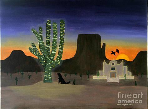 Saguaro Navidad by Susan Houghton Debus