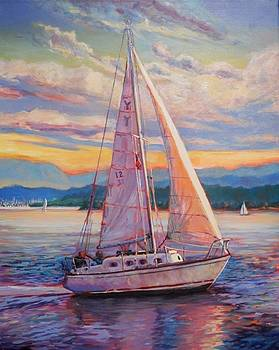 Sail Away by Margaret  Plumb