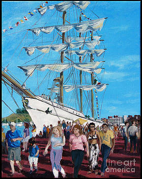 Tall Ships by Edward Williams