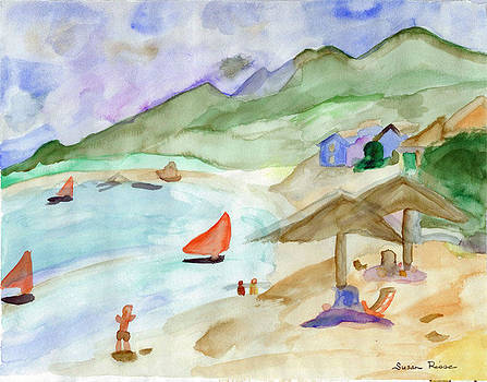 Sailboats by Susan Risse