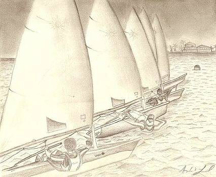Sailing by Angela Loud