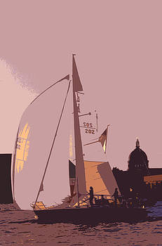 Sailing Annapolis by Paul Pobiak