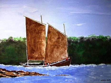 Sailing In A River by Samir Sokhn