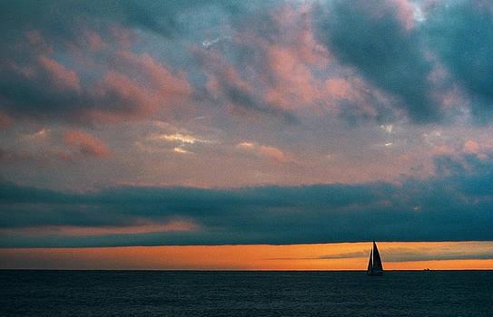 Sailing in Chiavari by Andrea Gabrieli