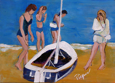 Betty Pieper - Sailing the Wildflower