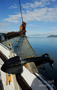 Sailing Through the Narrows by John Kelly
