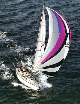 Sailing to Ensenada by John Wolf