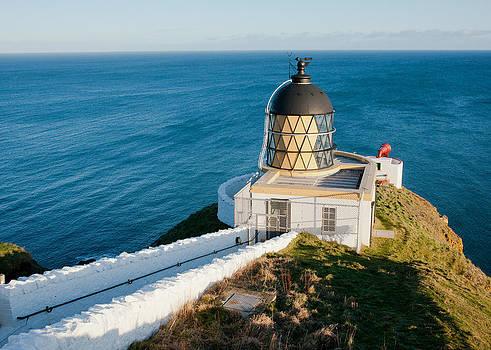 Saint Abb's Head Lighthouse and Foghorn by Max Blinkhorn