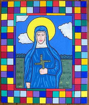 Saint Brigid of Ireland by Eamon Reilly