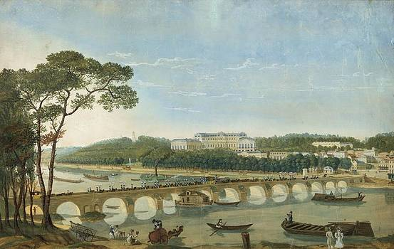 Saint-cloud During The Visit Of King Francois I, France, 1830 by Photos.com