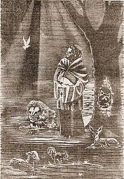 Twilight In Koi Pond >> Joyce Gibson - Artwork for Sale - Carrollton, GA - United States