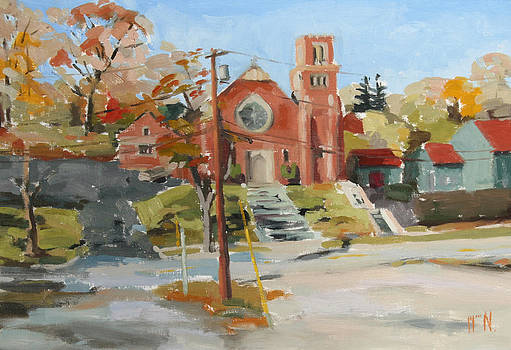 Saint Mary's Marlboro New York by William Noonan