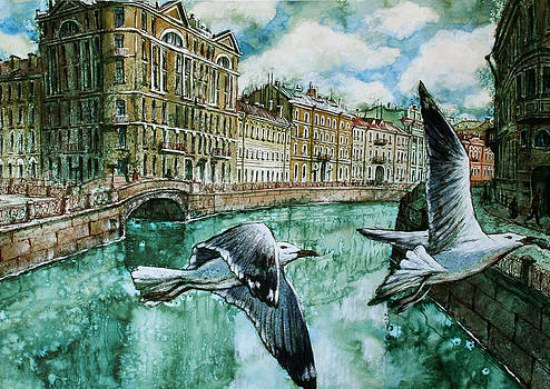 Saint-Petersburg by Aleksey Zuev