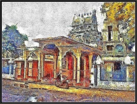 Saivite Temple by Ramani K
