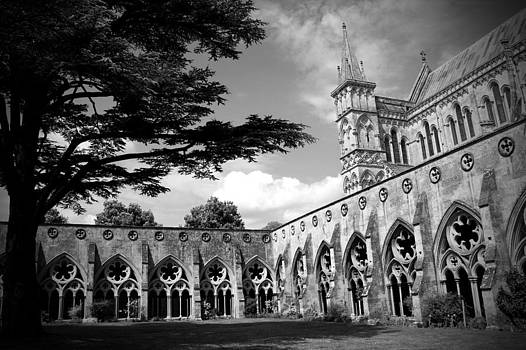 Kamil Swiatek - Salisbury Cathedral BW