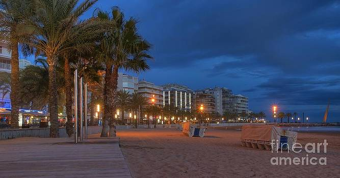 Salou at Dusk by Alfredo Rodriguez