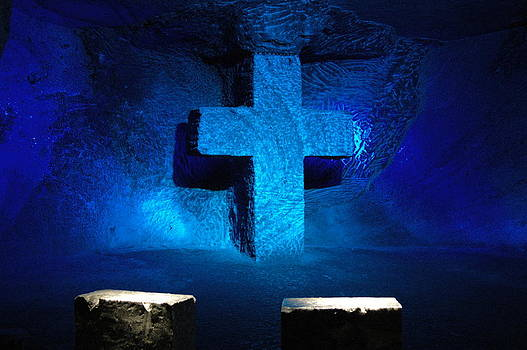 Salt Cathedral I by Kathy Schumann