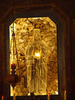Tammy Bullard - Salt Sculpture of Mary