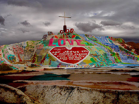 Salvation Mountain by Melisa Fretwell