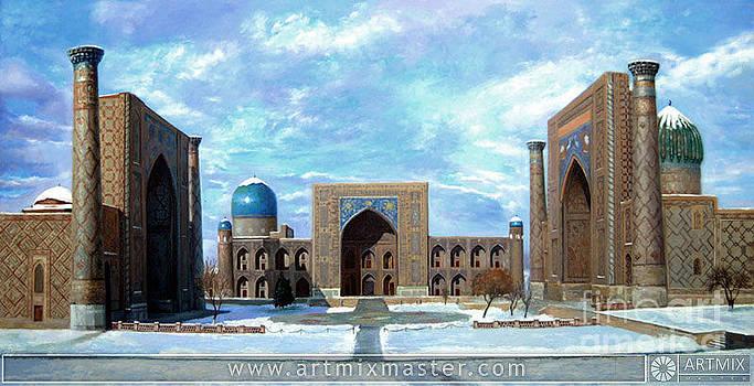Samarkand Uzbekistan by Sohib Razzakov