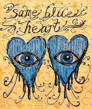 Same Blue Heart by Nancy Mitchell