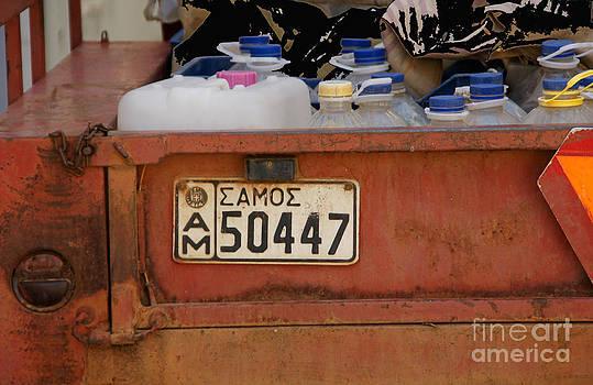 Samos License Plate by Maria Varnalis