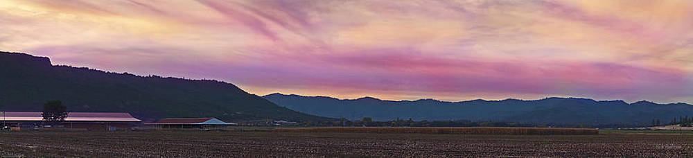 Mick Anderson - Sams Valley Panoramic Sunset