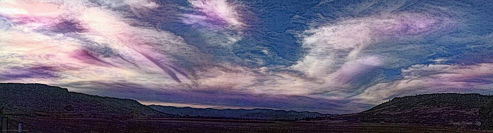 Mick Anderson - Sams Valley Pencil Panoramic