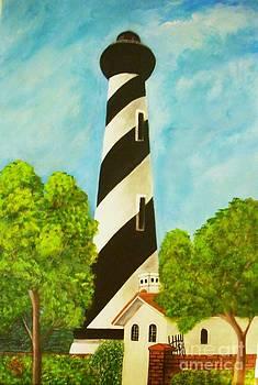 San Augustine  Lighthouse by Iris  Mora