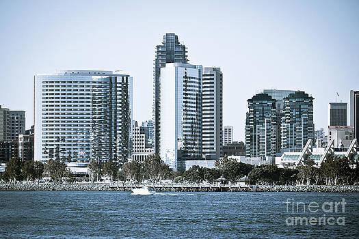 Paul Velgos - San Diego Downtown Waterfront Buildings