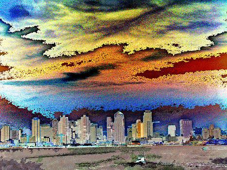 Ruth Edward Anderson - San Diego Skyline