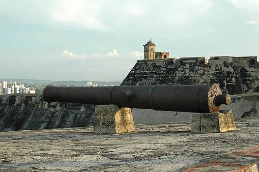 San Felipe cannons by Kathy Schumann