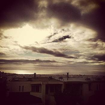 San Francisco #california #sky #clouds by Veronica Rains