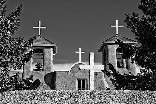 San Francisco de Asis Mission Church 10 by Lou  Novick