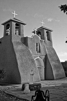 San Francisco de Asis Mission Church 8 by Lou  Novick