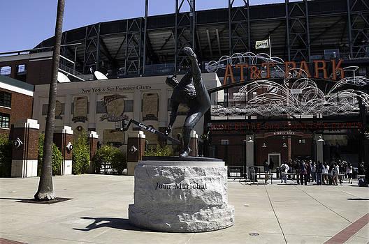 San Francisco Giants Ballpark  Statue of Juan Marichal by Paul Plaine