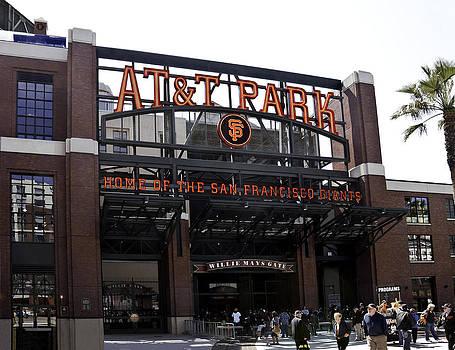 San Francisco Giants Baseball Park by Paul Plaine