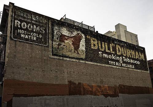 San Francisco Old Bull Durham Ad by Paul Plaine
