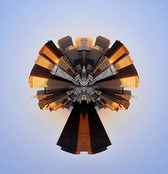 San Francisco Samourai - Stereographic by Cedric Darrigrand