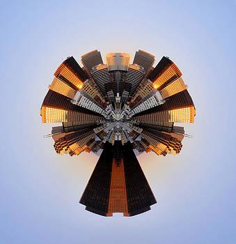 San Francisco Samourai - Stereographic by Cedric Darrigrand