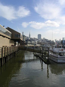 San Francisco waters by Linda  K